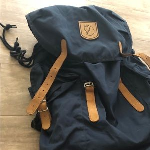 Fjallraven unisex backpack in dark blue
